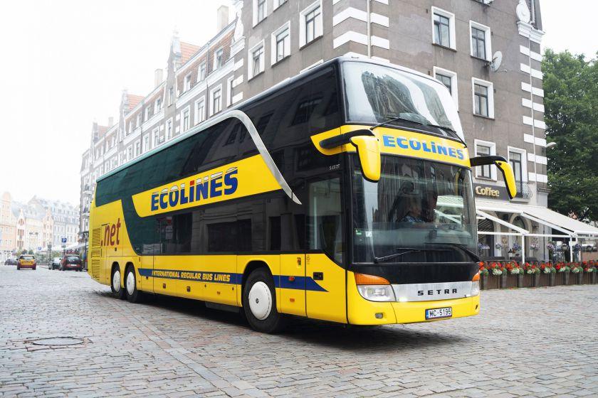 """""""Ecolines"""" atnaujina populiariausius reisus: veš į Varšuvą ir Berlyną"""