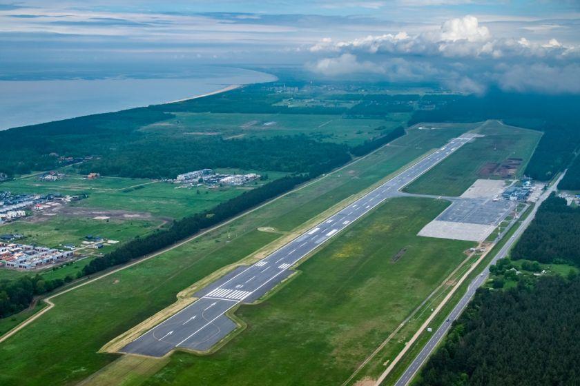 Palangos oro uosto rekonstrukcijai parinktas optimaliausias laikotarpis